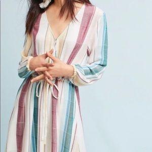 Anthropologie Rails Becca faux wrap dress Sz S